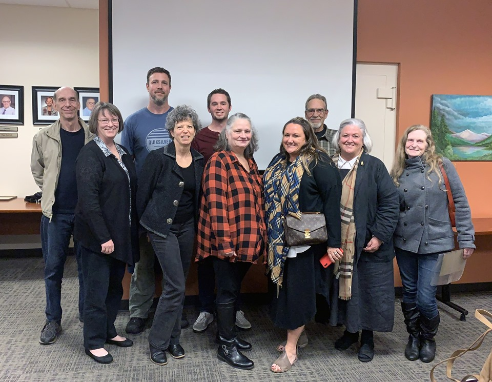 Photo of living Risley family members at the October 2019 OLHD meeting