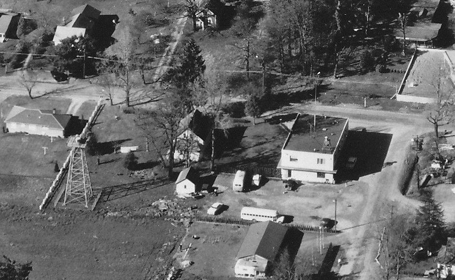 Aerial photo of Oak Grove RFPD buildings