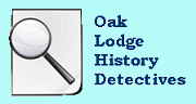Oak Lodge History Detectives Logo