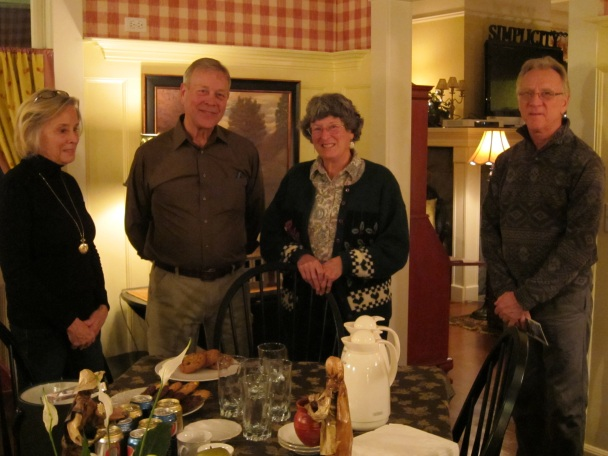 Photo of members visiting the Sandes of Time Bed and Breakfast